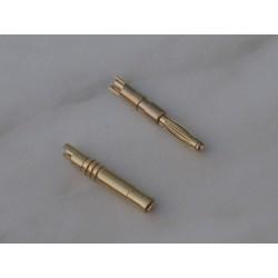 Zlacený konektor 2 mm