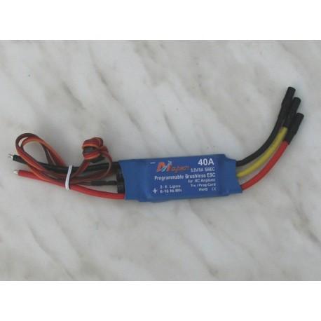 MAYTECH MTA 40A ESC - BEC 5A/5V – střídavý regulátor