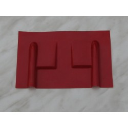 Krytka serv - Filip velká, červená